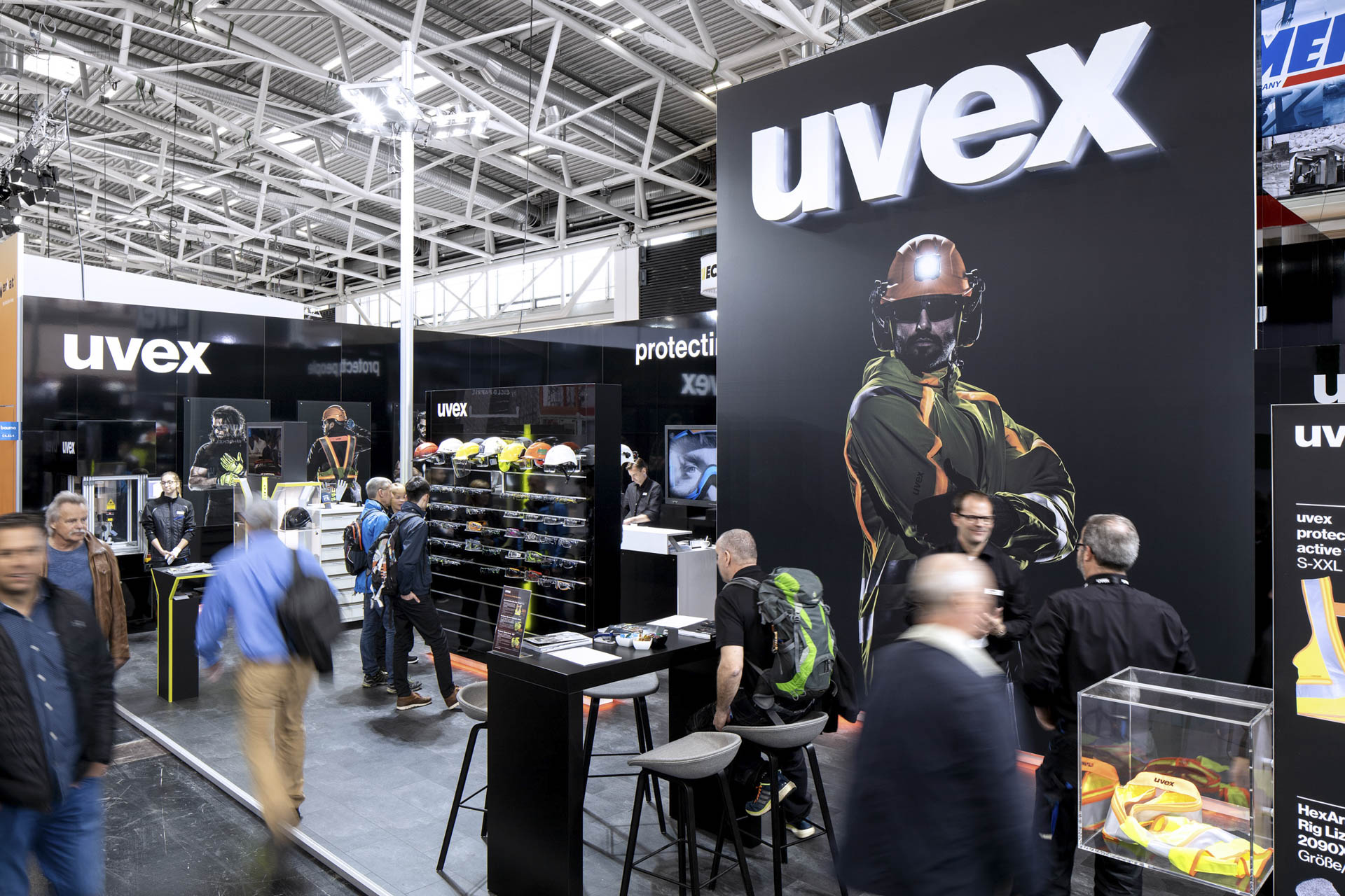 mc2 referenz Uvex Bauma2019